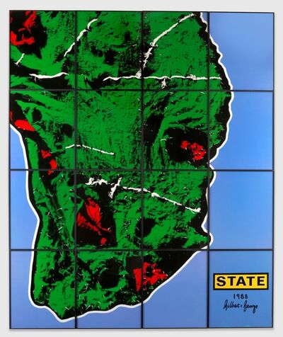 Gilbert and George, 'State', 1988