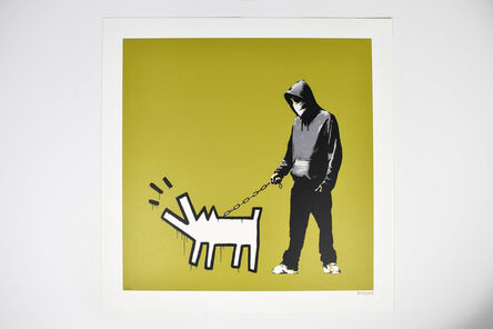 Banksy, 'Choose Your Weapon (Olive)', 2010