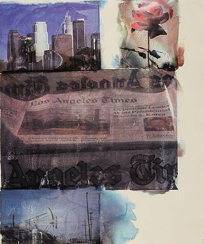 Robert Rauschenberg, 'L.A. uncovered #2', 1998
