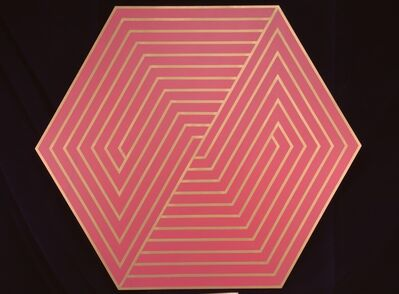 Anthony Poon, 'Untitled (Octagonal - Red/Gold)', ca. 1970s