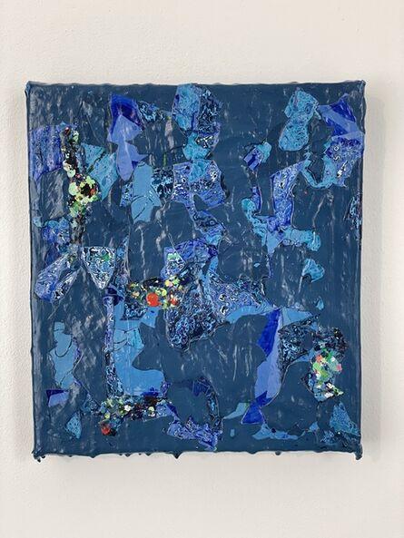 Christina Zurfluh, 'Blau grün', 2020/21