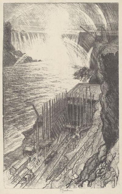 Joseph Pennell, 'Niagara Rainbows', 1910