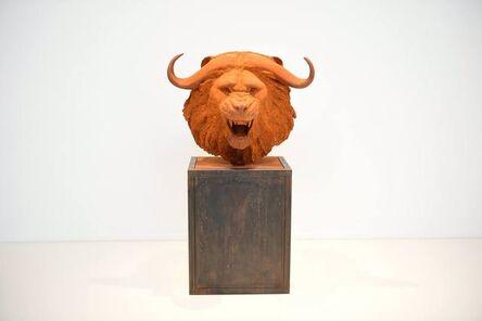 Mauro Corda, 'Tête Lion Buffle', 2016