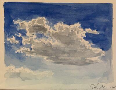 Scott Bluedorn, 'Cloud Study: Bright', 2018
