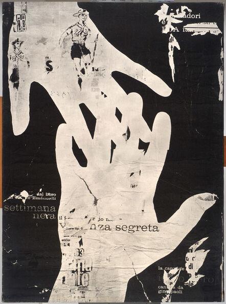 Mimmo Rotella, 'Secret Violence', 1963