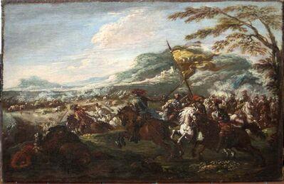 Francesco Graziani, 'Battle of Cavalries', Late 1600