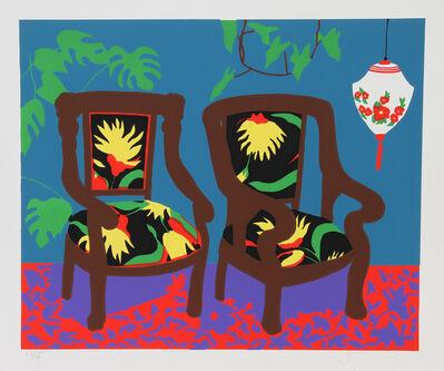 Hunt Slonem, 'Lantern', 1980