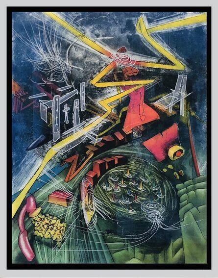 Roberto Matta, 'Pyrocentre', 1980