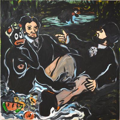 Jeffrey Spencer Hargrave, 'Fish Fry on da` Grass ', 2016