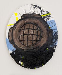 Thaddeus Strode, 'In Park (the Buddha)', 2012