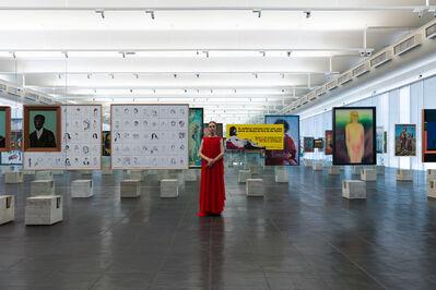 Élle de Bernardini, 'The Empress at MASP (São Paulo).', 2019