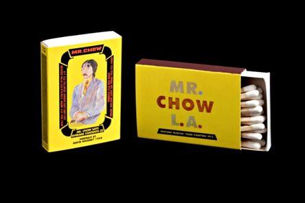 Ed Ruscha, 'Mr. Chow Matchbox', 1984