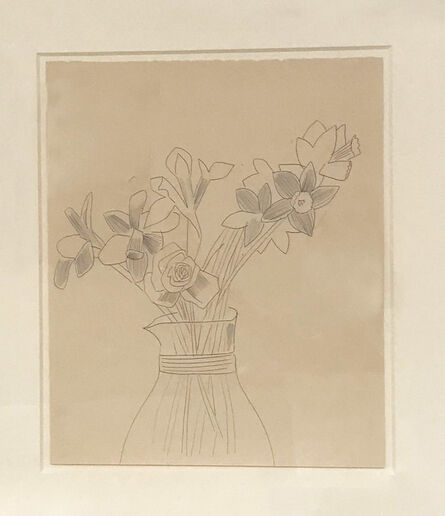Andy Warhol, 'Still-Life: Flowers', 1956