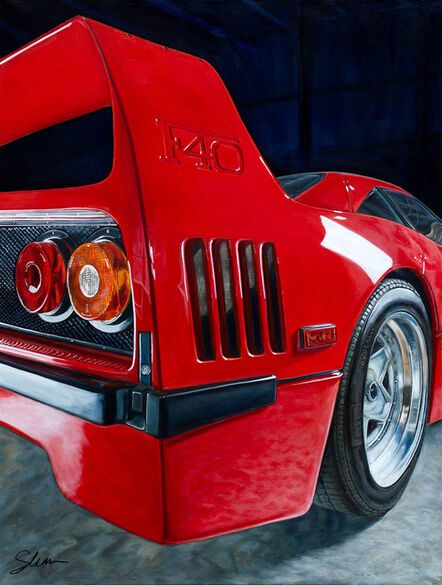 Shannon Fannin, 'Ferrari 1990 F40', 2021