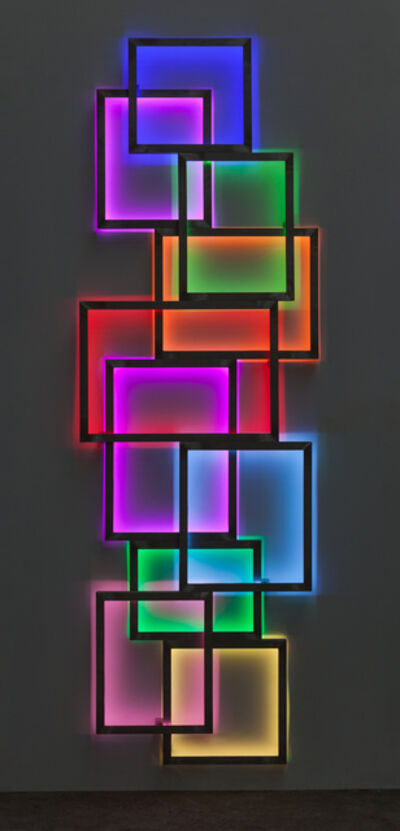 David Batchelor, 'Glowstick 2', 2016