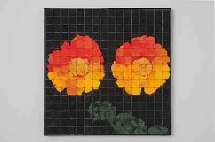 Rachel Lachowicz, 'Gerberas (Orange)', 2017