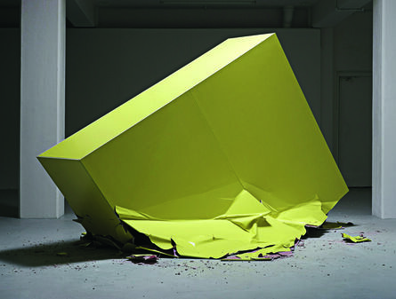 Sebastian Wickeroth, 'Untitled, Fuck Newton', 2016