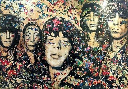 Mr. Brainwash, 'The Rolling Stones, signed', 2008