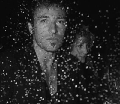 Ron Galella, 'Bruce Springsteen and Patti Scialfa, Canal Bar, New York', 1988