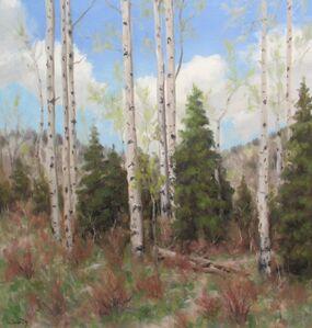Stephen Day, 'Spring Aspen', 2021