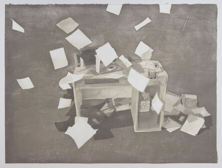 Kevin Frances, 'Falling Paper', 2016