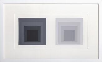 Josef Albers, 'Homage to Square from Formulation Articulation: Portfolio 1, Folder 23, Image 1', 1972