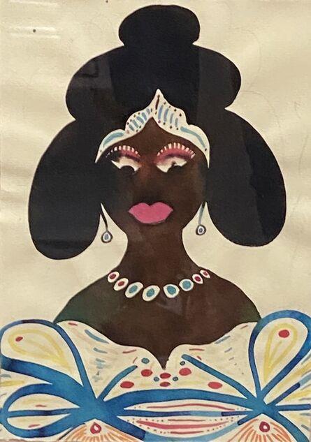 Chris Ofili, 'Princess', 2001