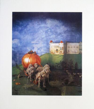 William Wegman, '6 Pups And The Pumpkin Carriage', 1994