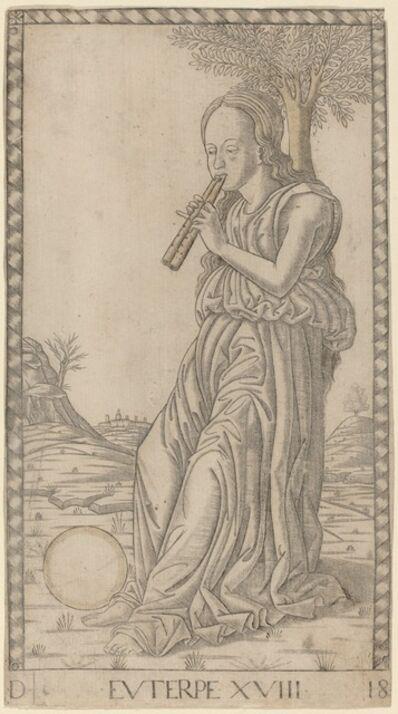 Master of the E-Series Tarocchi, 'Euterpe', ca. 1465