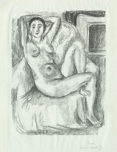 Henri Matisse, 'Nu au Fauteuil Bistre', 1925