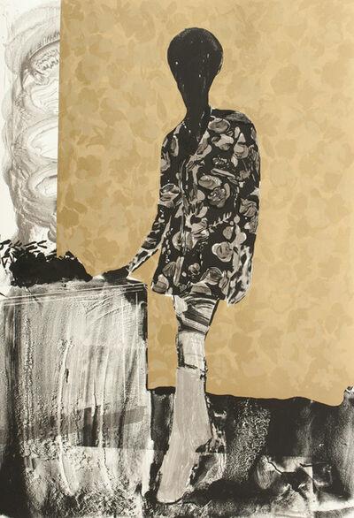 Hurvin Anderson, 'Mrs. S. Keita - Black and Gold', 2010