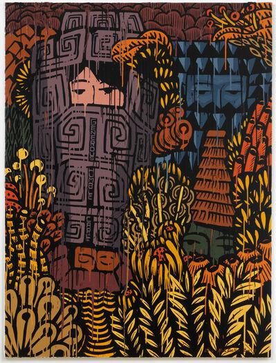 Eko Nugroho, 'Garden Full of Blooming Democracy #11', 2017
