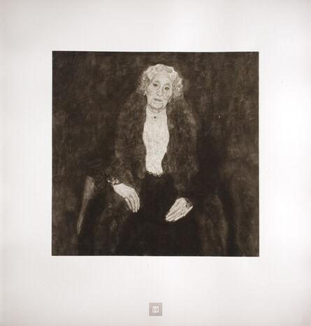 Gustav Klimt, 'Portrait of an Old Lady (Charlotte Pullitzer) [Gustav Klimt An Aftermath]', 1931