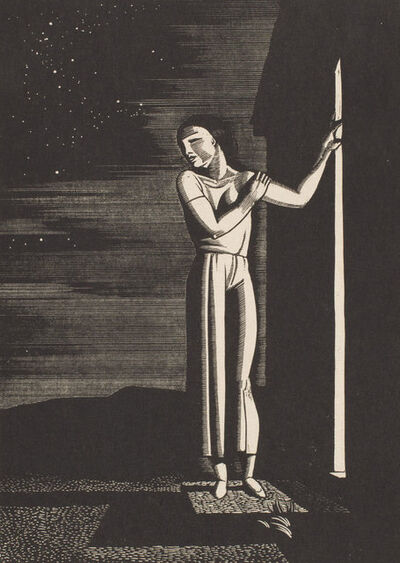 Rockwell Kent, 'Starry Night', 1933