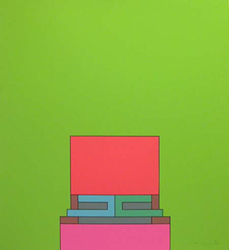 Robyn Denny (1930-2014), 'The Heavenly Suite (green)', 1971