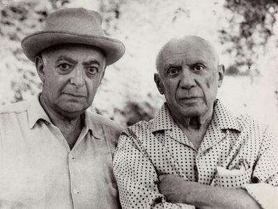 Brassaï, 'Self-Portrait of Brassai with Picasso', 1966/1966