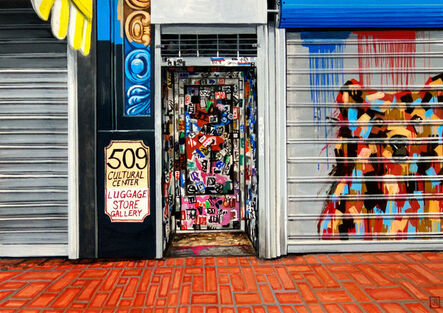 Jessica Hess, 'Luggage Store', 2012