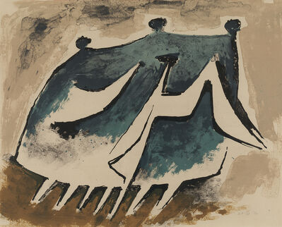 Kenneth Armitage, 'Family Going for a Walk', 1954