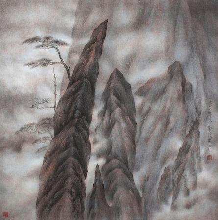 Kan Tai Keung, 'Peaks - Clouds - Pines', 1980