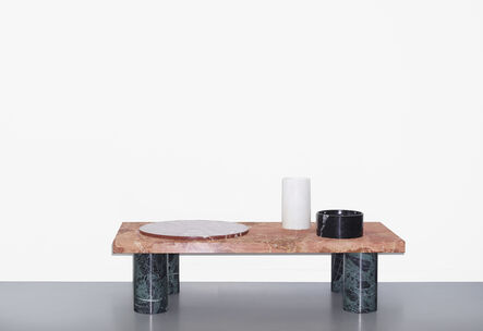 Tomás Alonso, 'Lines & Waves, table 4', 2014