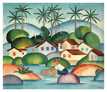 Tarsila do Amaral, 'Tapestry Tarsila do Amaral - O Pescador', 2016