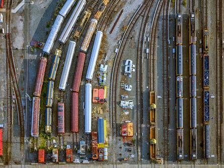 Jeffrey Milstein, 'NYC Coney Island Subway Yard', 2017