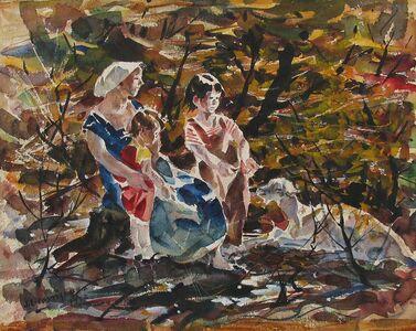 John E. Costigan, 'Mother and Children', 1953