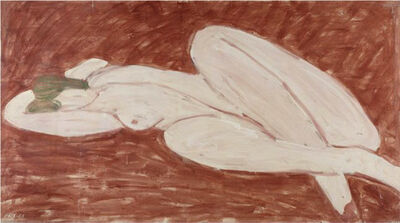 Stephen Pace, 'Reclining Nude, Venetian Red Ground (65-10)', 1965