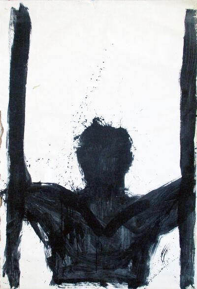 Richard Hambleton, 'Untitled (Torso with Verticals)', 1994