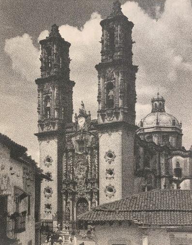 Hugo Brehme, 'Taxco, Parroquia, Mexico', ca. 1910-20