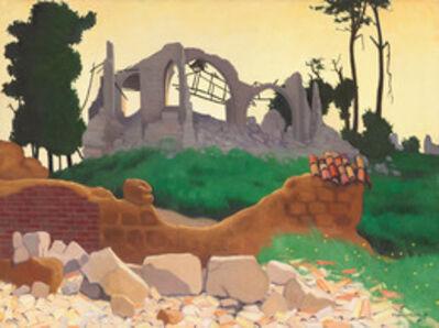 Félix Vallotton, 'The Church of Souain', 1917