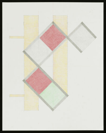 Richard Rezac, 'Study for Untitled (20-11)', 2020