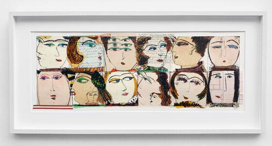 Kristiane Semar, 'Twelve Heads', 2020
