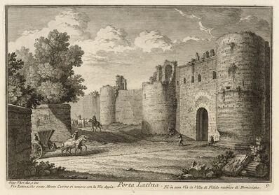 Giuseppe Vasi, 'Porta Latina', 1747
